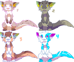 Dragon Foxes For Sale: closed by Pand-ASS