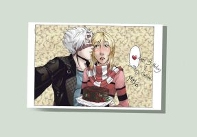 Happy Bday Miha by Death-by-Papercuts