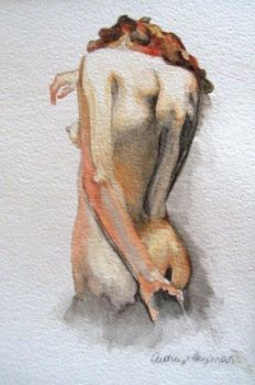 Nude Study II by Audwee