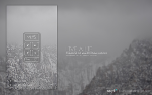 Live A Lie by justanormalman