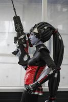 Widowmaker skin Noire from Overwatch by dandlit