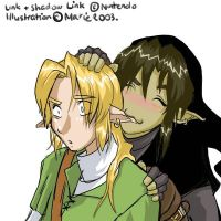 Link x DLink - art-trade by cheenot