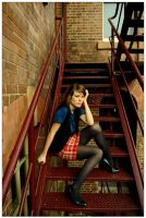 On Stairs by mariemadame