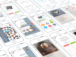 Chat iPhone App Design by Ramotion by Ramotion