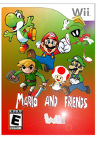 Mario and friends Wii by Aso-Designer