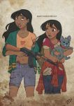The Walking Disney : Nani, Lilo and Stitch by Kasami-Sensei