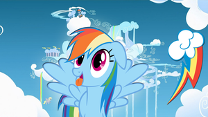 Rainbow Dash Wallpaper by Dawn-Sparkle06