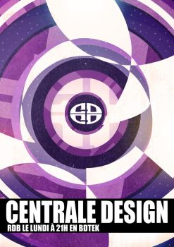 Affiche Centrale Design by Xehon-art