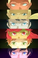 YJ: PERSONA 3 EYES MEME by Zashache