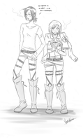 Ymir x Christa by KataTreason