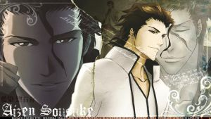 WALLPAPER: Aizen Sousuke by blackstorm