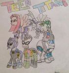 Teen Titans MLP by SunnyBloom90