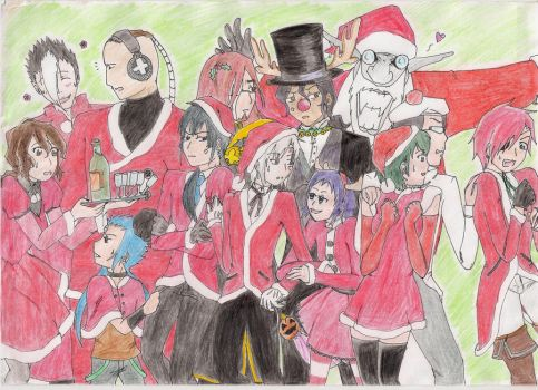 DGM:merry_christmas by lolliipOpGiirl