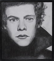Harry Styles GQ drawing by lilmisscoolio