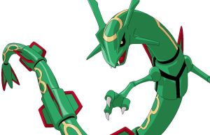 .:Rayquaza:. by FoxDemon12