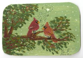 Sweet Cardinals by Ailin34