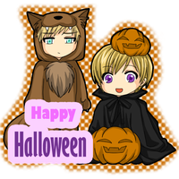 APH - Halloween 2009 by miyaotohime