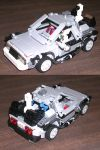 Lego's DeLorean Rejiggered by Jochimus