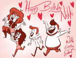 Happy Birthday Nikki by happydoodle
