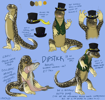 Dipstick ref by uropygid