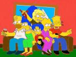Simspins Simpson univers couch gag colored by jonasmax10