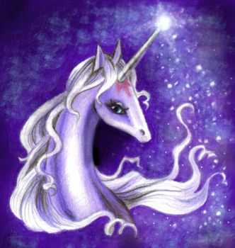 The Last Unicorn by pegacorn