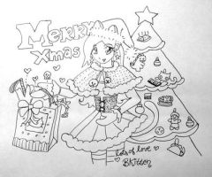 Merry Christmas 2010 from BK by Bkitten
