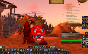 Me and NzuriChui Bestial Wrath by Foxstar92