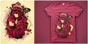 Tees of Topeng Kelana by andreasardy