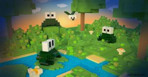 Do Voxel Toads Dream Of Pixel Flies? by geors