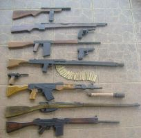 Woodcraft: Weapons Evolution by Shabazik