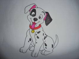 101 Dalmations drawing by chloesmith8