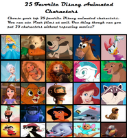 Finished 25 Disney Meme by sailor-kitty19
