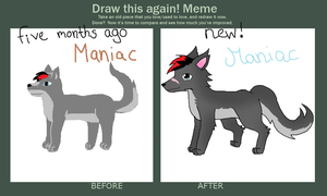 Draw again Maniac by Lizzara