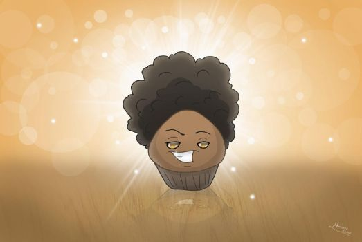 Afro Muffin by Almairis