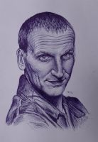 Christopher Eccleston 9th Doctor by Woolf83