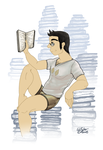Book Worm by williamotyler