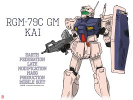 RGM-79C GM Kai by twtmaster