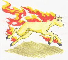 Rapidash's Rise from Downfall by Yamashita-akaDoragon