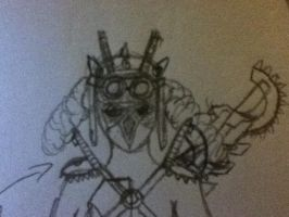 post apocalyptic armor concept wip by sam1337