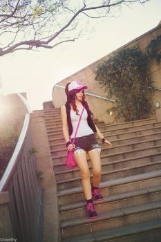 Pokemon Black and White - Touko [4] by AmyThunderbolt