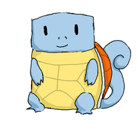 Cubic Squirtle by jentwice