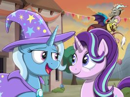 Great and Powerful Friendship by Autumn-Dreamscape