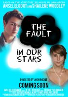 The Fault in Our Stars Movie Poster by ScentofPetrichor