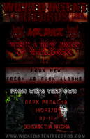 Wicked Intent Records Flyer by DenialX