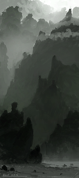 mountains by ehecod