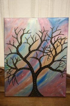 Tree horizons (2017-01-09) 1 by Paintsartsandjewels