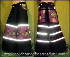 INVADER ZIM Raver Phat Pants by RedheadThePirate