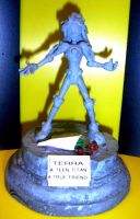 stone Terra statue by TeenTitans4Evr