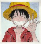 Mugiwara no Luffy by Lelyax